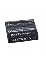Waterman Naboje International (6szt) Czarny