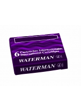 Waterman Naboje International (6szt) Fioletowy